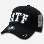 Deluxe Law Enforcement Caps - ATF - Black