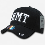 Deluxe Law Enforcement Caps - EMT - Black