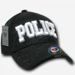 Shadow Law Enforcement Caps - Police - Black