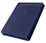 "Rothco Navy Blue 70% Virgin Wool Blanket 62"" x 80"""