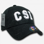 Shadow Law Enforcement Caps - CSI - Black