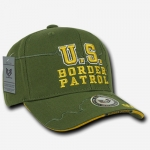 Shadow Law Enforcement Caps - U.S. Border Patrol - Olive Drab