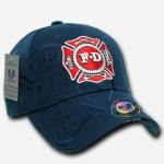 Shadow Law Enforcement Caps - Fire Department - Navy Blue