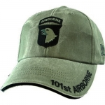 US Army Ballcap 101st Airborn - Olive Drab OD