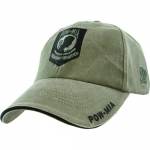 "Assorted Ballcap - POW/MIA ""You Are Not Forgotten"" Olive Drab Cap with Shield"