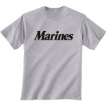 PT T-Shirt US Marine Grey Physical Training T-Shirt