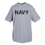 PT T-Shirt Navy Grey Physical Training T-Shirt