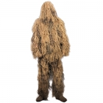 Lightweight All Purpose Ghillie Suit - Desert Camo