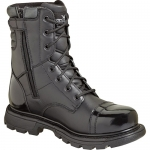 Thorogood 8-inch Side Zip Jump Black Uniform Boots
