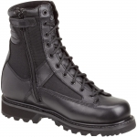 Thorogood 8-Inch Trooper Boot - Side Zip - Black
