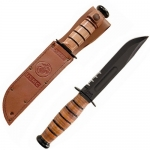 KA-BAR - USMC Serrated Edge Knife - Full Size - KA1218